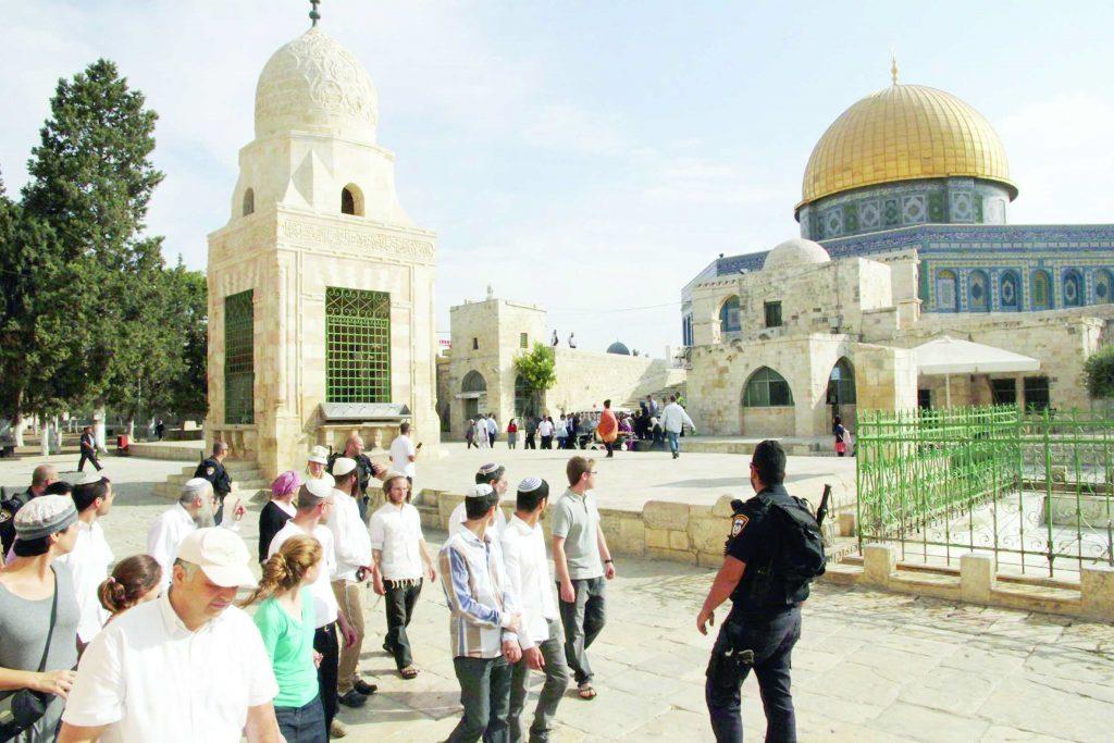 مستوطنون يهود يقتحمون الأقصى في جولات استفزازية