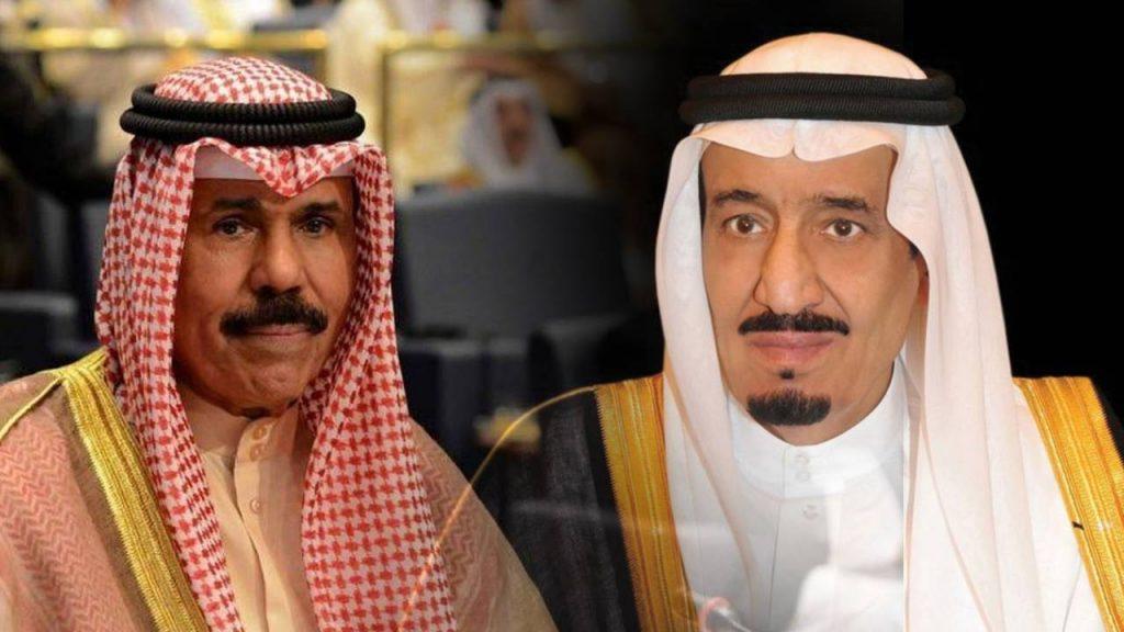 خادم الحرمين الشريفين يبعث رسالة خطية إلى أمير الكويت