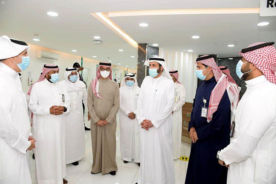 وزير الصحة يتفقد مستشفى الأمير محمد بن فهد ومراكز لقاحات في القطيف والظهران ومركز صحي الفيصلية بالدمام