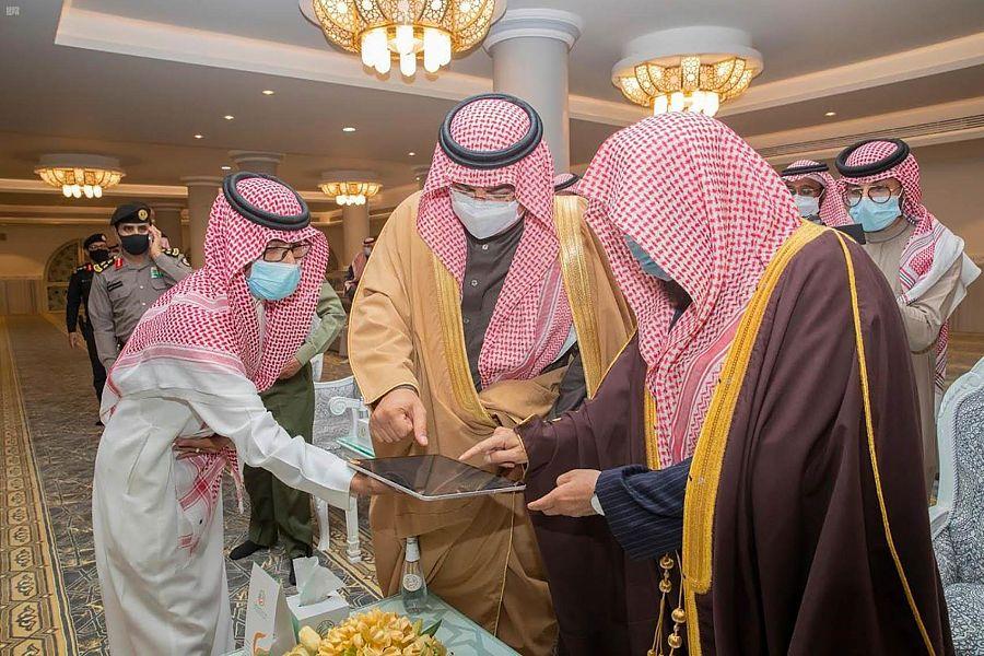 محافظ حفر الباطن يُدشن مؤسسة الشيخ عبدالله الشريع الخيرية