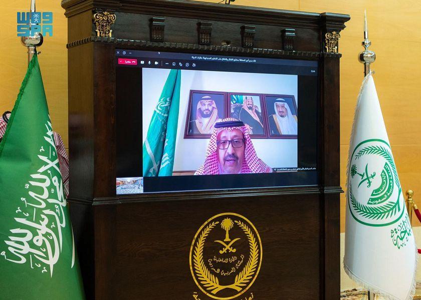 """أمير الباحة يجتمع مع مشايخ القبائل بحضور المدير العام للجان النظر بطلبات التملك """"إحكام"""""""