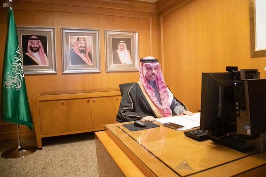 الأمير فيصل بن فرحان يلتقي وزيرة خارجية النرويج