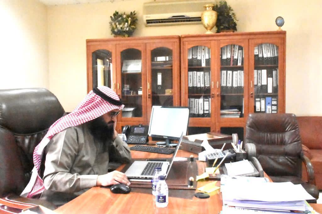إدارة تعليم الجوف تستعرض أعمال ومنجزات مكتب تعليم صوير