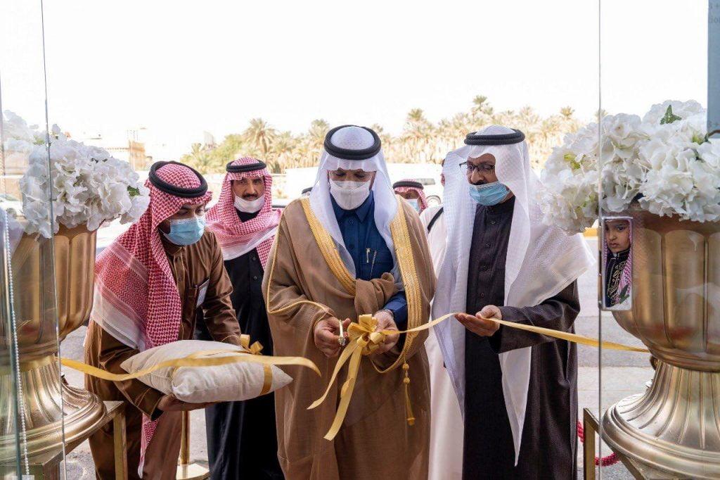 وكيل إمارة الجوف يفتتح مقر جمعية قدوة لرعاية الأيتام