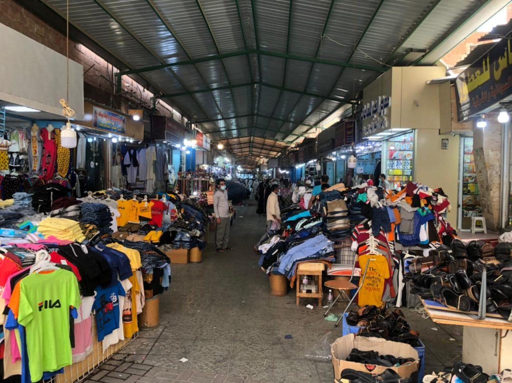 أمانة جدة إغلاق سوق شعبي بالبلد بعد رصد مخالفات عدم الالتزام بالإجراءات الاحترازية