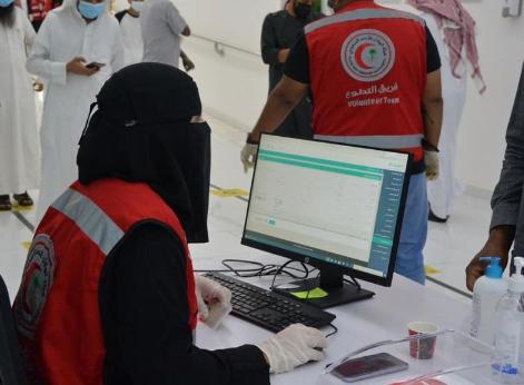 فرق التطوع بالهلال الأحمر في حائل تنفذ 11 مبادرة مجتمعية خلال شهر رمضان
