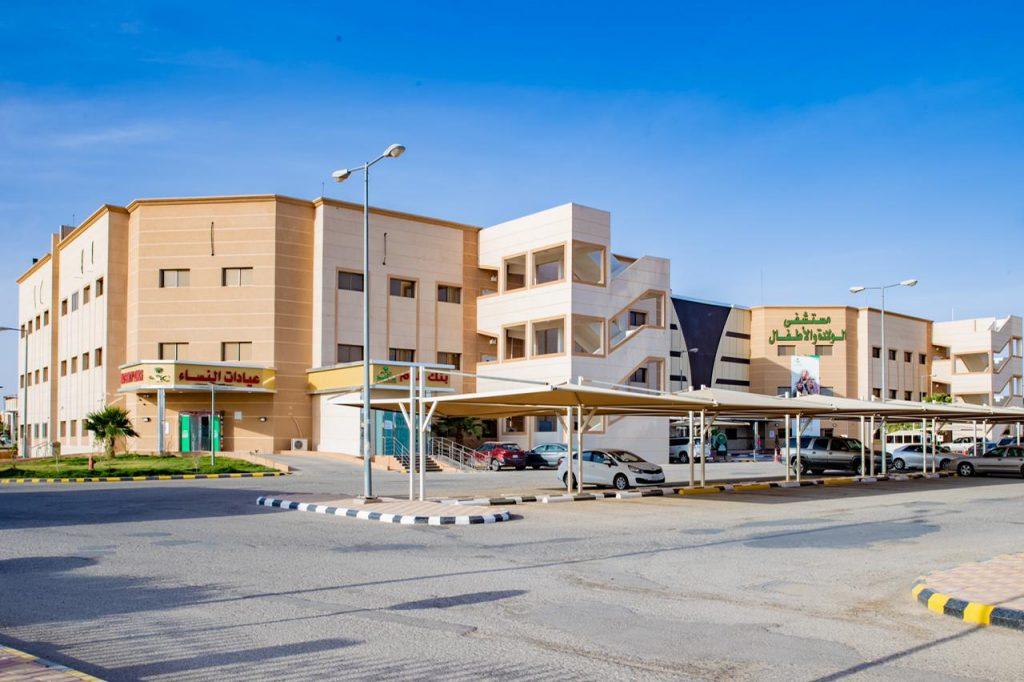 مستشفى الولادة والأطفال بحفر الباطن ينهي معاناة مولود من انسداد معوي