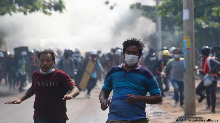 قلق أممي عميق إزاء مقتل عشرات المتظاهرين في ميانمار 