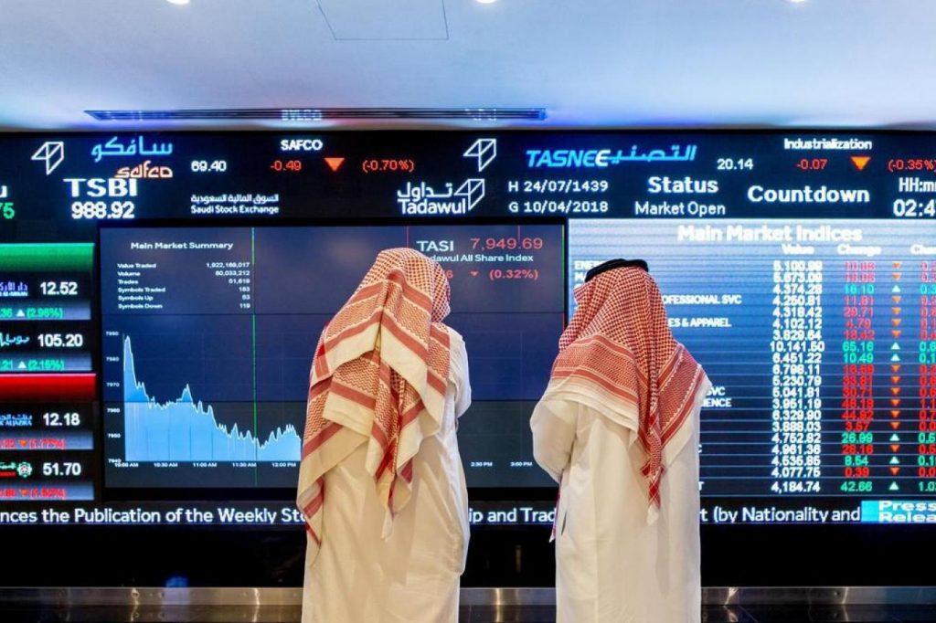 مؤشر سوق الأسهم  يغلق مرتفعاً عند مستوى 10116 نقطة
