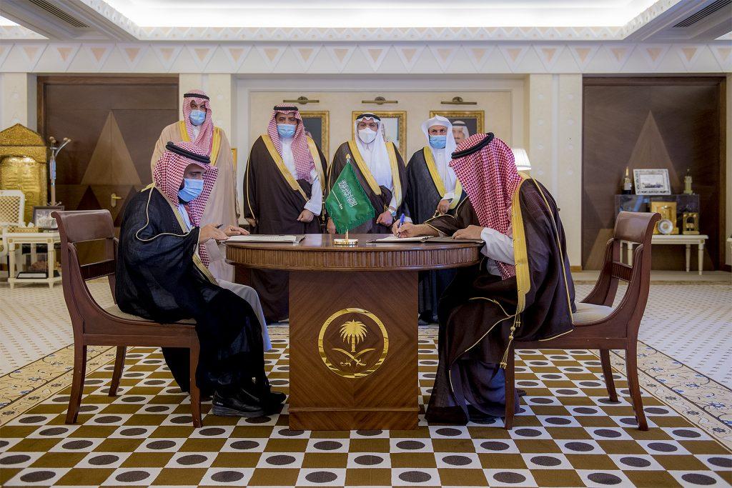 أمير القصيم يرعى توقيع مذكرة تفاهم بين الجامعة وبرنامج الأمن الفكري