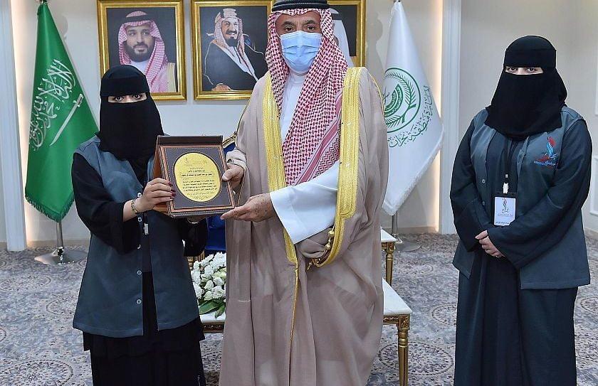 أمير منطقة نجران يتسلّم العضوية الفخرية لجمعية نور نجران النسائية للأشخاص ذوي الإعاقة