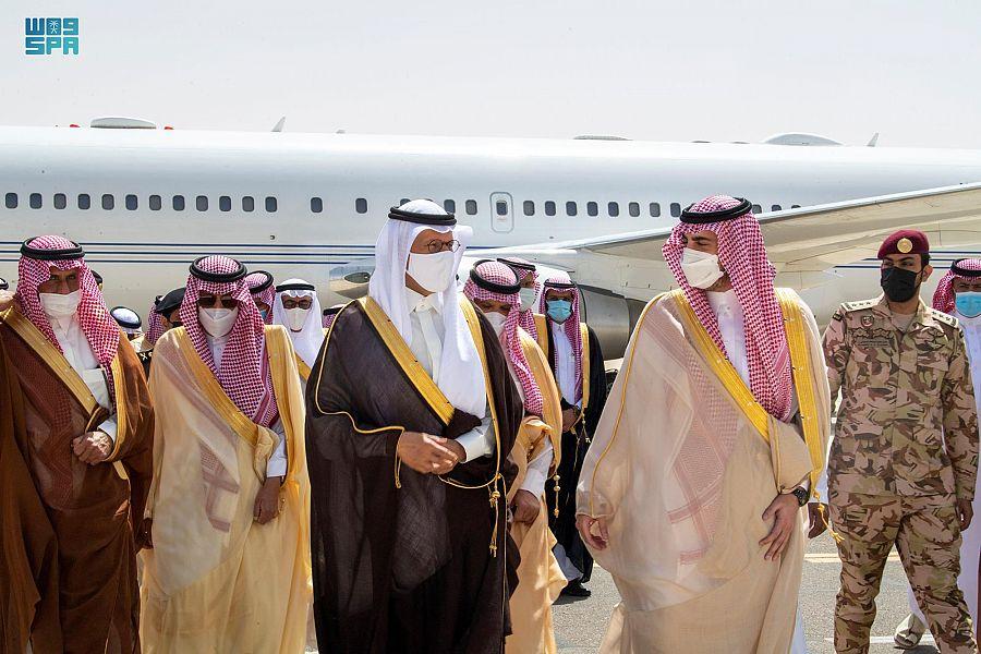 أمير الجوف يستقبل سمو وزير الطاقة