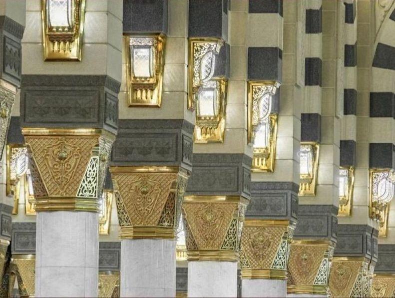 وكالة المسجد النبوي تستبدل ٢٨ ألف وحدة إنارة داخل المسجد ومرافقه