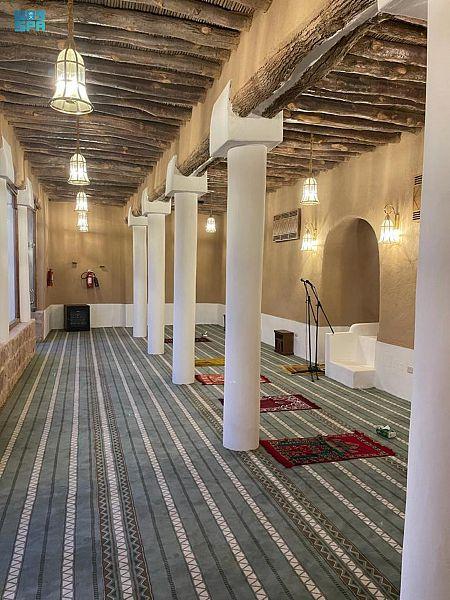 من مشروع الأمير محمد بن سلمان لتطوير المساجد التاريخية بالمملكة .. مسجد الجلعود التاريخي بحائل الذي بُني قبل 267 عامًا