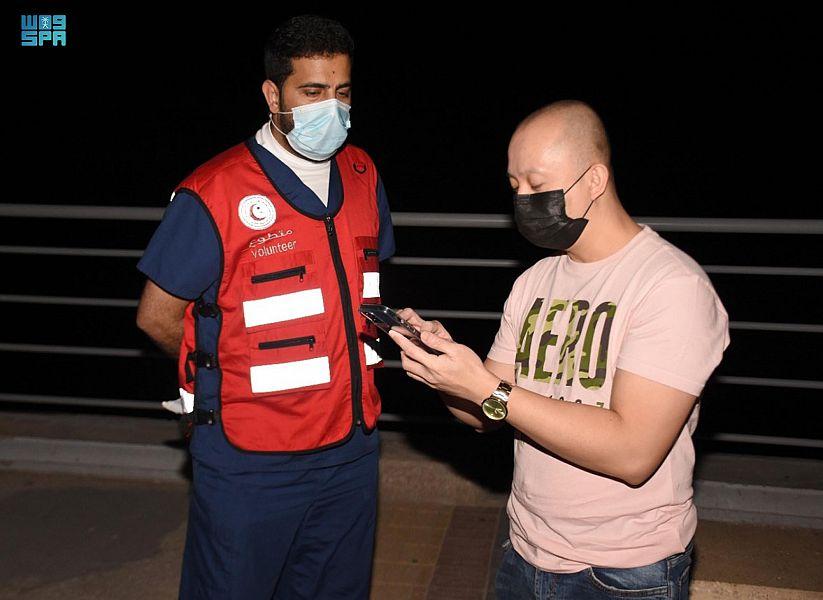 1400 ساعة عمل حقّقها متطوعو الهلال الأحمر بالشرقية