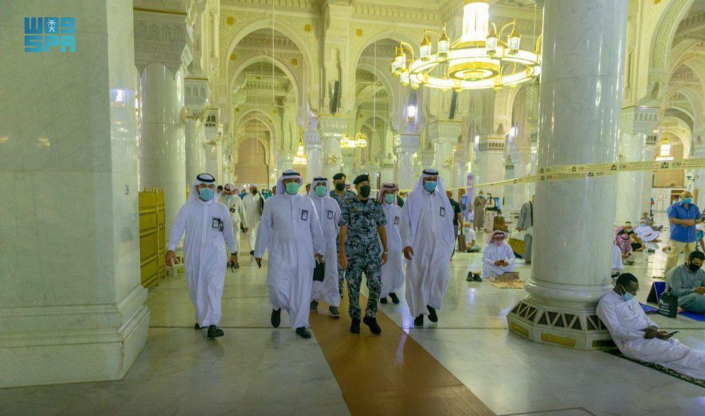 افتتاح مصليات توسعة الملك فهد والسطح بالمسجد الحرام وفق ضوابط الاجراءات الاحترازية