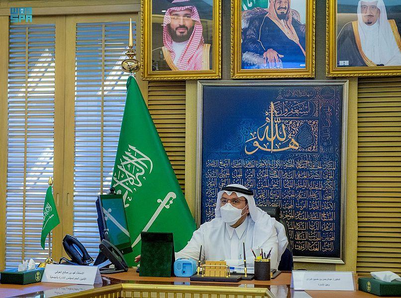 أمير القصيم يطلق حملة مشروع الساعي لتوفير 1000 مسكن