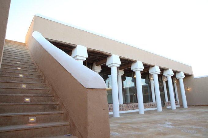 من مشروع الأمير محمد بن سلمان لتطوير المساجد التاريخية بالمملكة .. مسجد قفار في حائل الذي يتسع لـ 1400 مصل