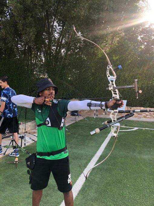 أخضر السهام يواصل تدريباته في الرياض