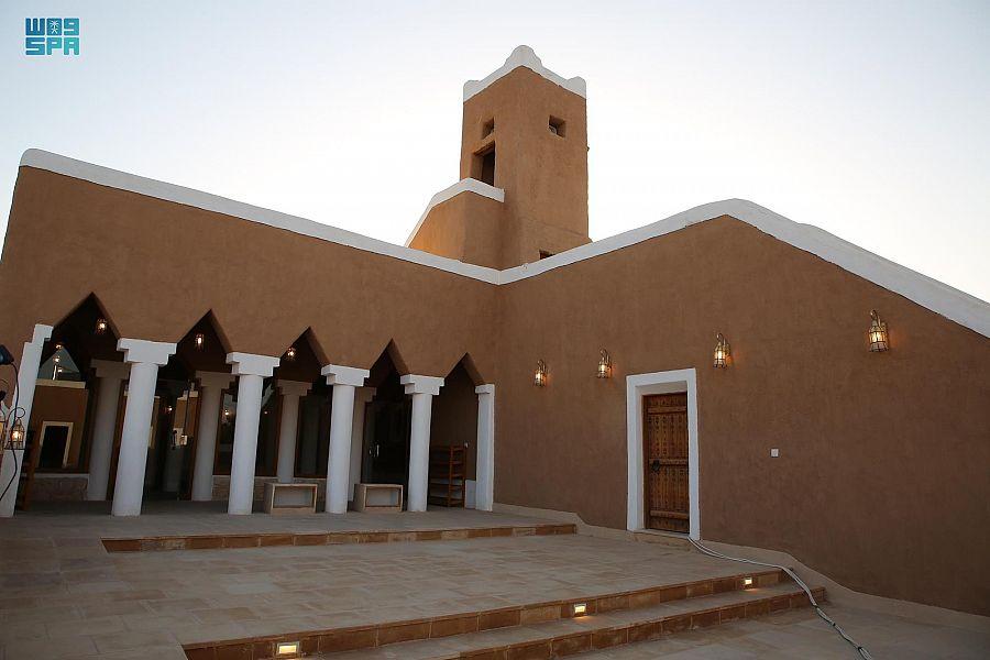 من مشروع ولي العهد لتطوير المساجد التاريخية.. مسجد المقبل التاريخي في بريدة