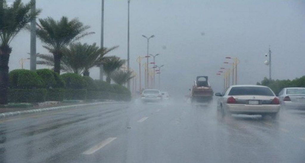 أمطار رعدية على الباحة حتى السابعة مساءً