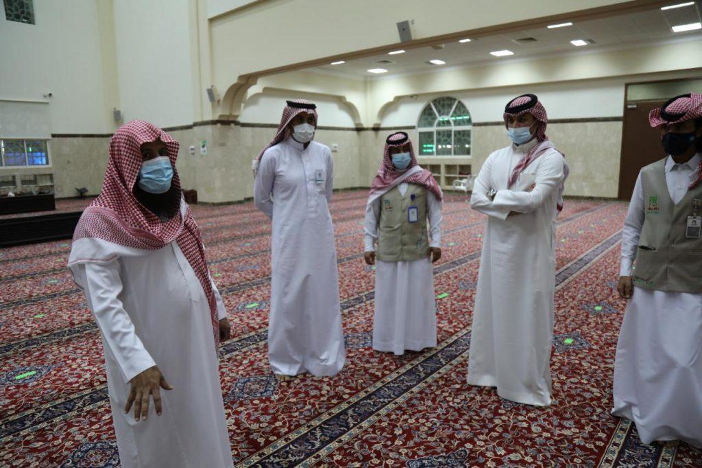 """""""الشؤون الإسلامية"""" بنجران يدشّن الحملة الميدانية للوقاية من فيروس كورونا"""