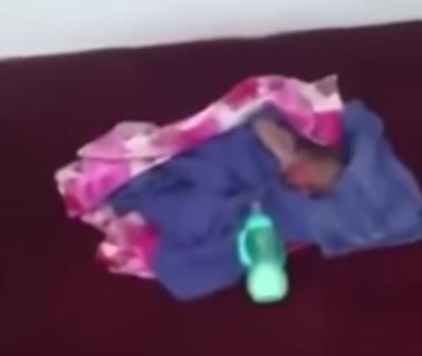 العثور على رضيع حديث الولادة داخل صندوق نفايات بشقراء