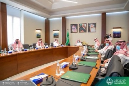 أمير حائل يستقبل الرئيس التنفيذي لهيئة تطوير محمية الإمام تركي بن عبدالله الملكية