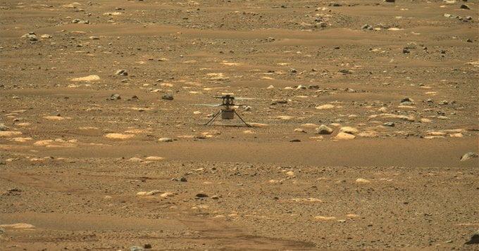 """طلعة ثانية فوق المريخ لمروحية """"ناسا"""" أعلى وأطول من الأولى"""