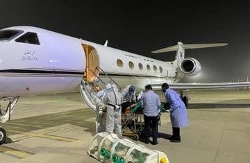 نقل عائلة سعودية مصابة بفيروس كورونا من الهند إلى المملكة