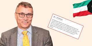 السفير التشيكي في الكويت يعتذر عن تضامنه مع الاحتلال الإسرائيلي