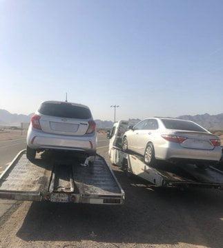 ضبط عدد من المركبات بالمدينة المنورة قام أصحابها بارتكاب مخالفات مرورية