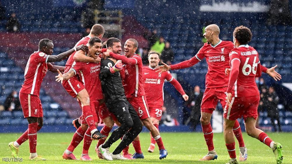 """""""هدف معجزة"""" من حارس ليفربول يجدد حلم دوري الأبطال"""