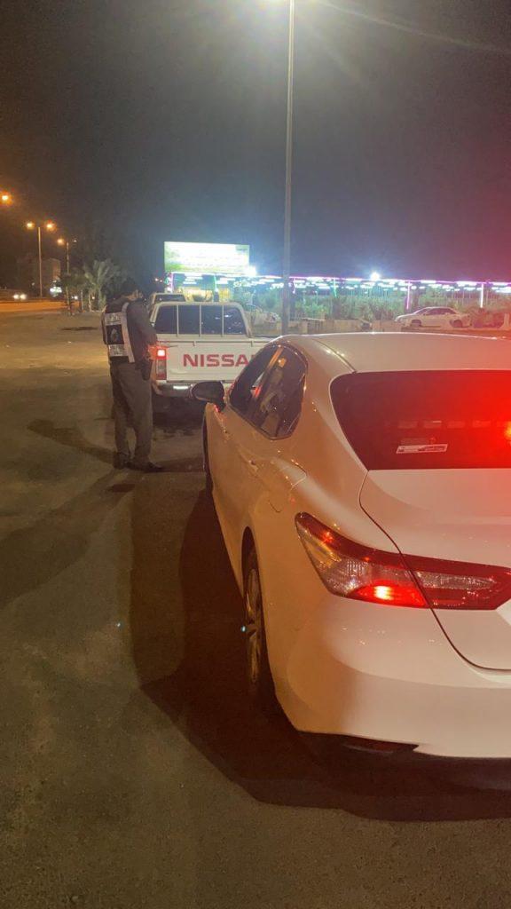مرور الطائف يضبط قائد المركبة قام بنشر مخالفته بمواقع التواصل