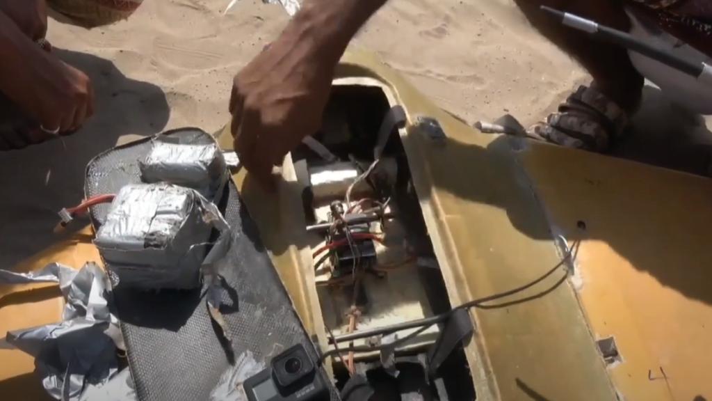 التحالف: تدمير مسيرة حوثية مفخخة صوب خميس مشيط جنوب السعودية