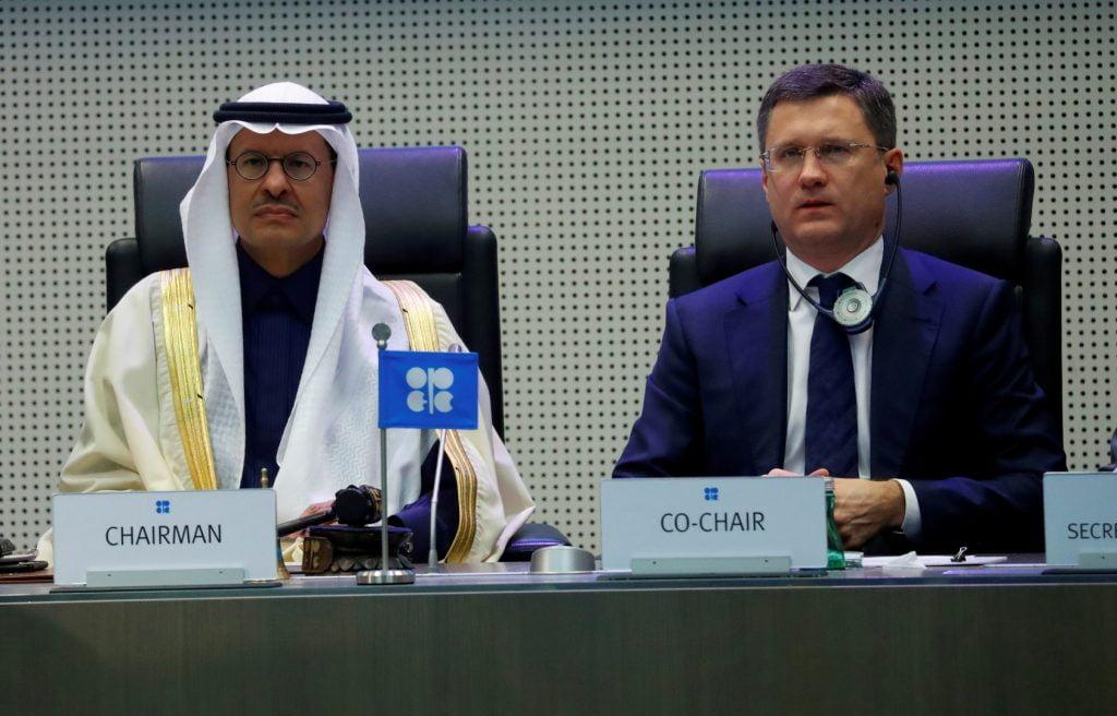"""نوفاك: روسيا تعتزم تنفيذ اتفاق """"أوبك+"""" بنسبة 100% في مايو"""