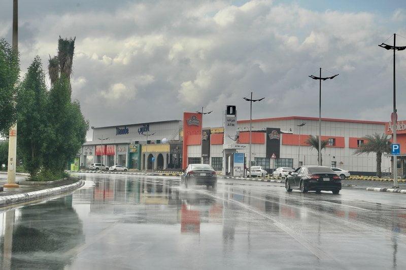 """""""الأرصاد"""" : أمطار متوسطة إلى غزيرة على منطقة جازان"""