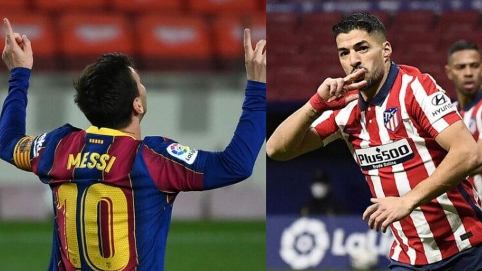 ميسي وسواريز وجها لوجه.. التشكيلة الأساسية للمواجهة المرتقبة بين برشلونة وأتلتيكو مدريد