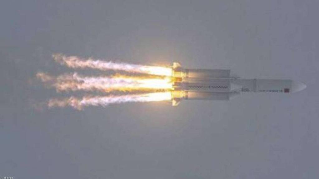 «الفلك الدولي» ينشر صورة لحطام الصاروخ الصيني المتوقع سقوطها بعد قليل