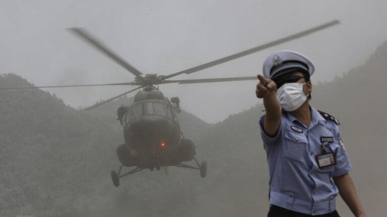 ارتفاع عدد ضحايا تحطم طائرة مروحية في الصين إلى أربعة