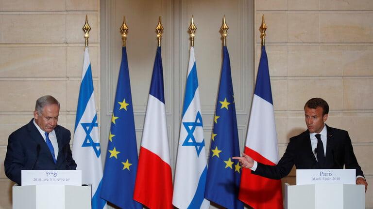 ماكرون يجري اتصالا مع نتنياهو ويعرب عن قلقه من أحوال سكان غزة المدنيين