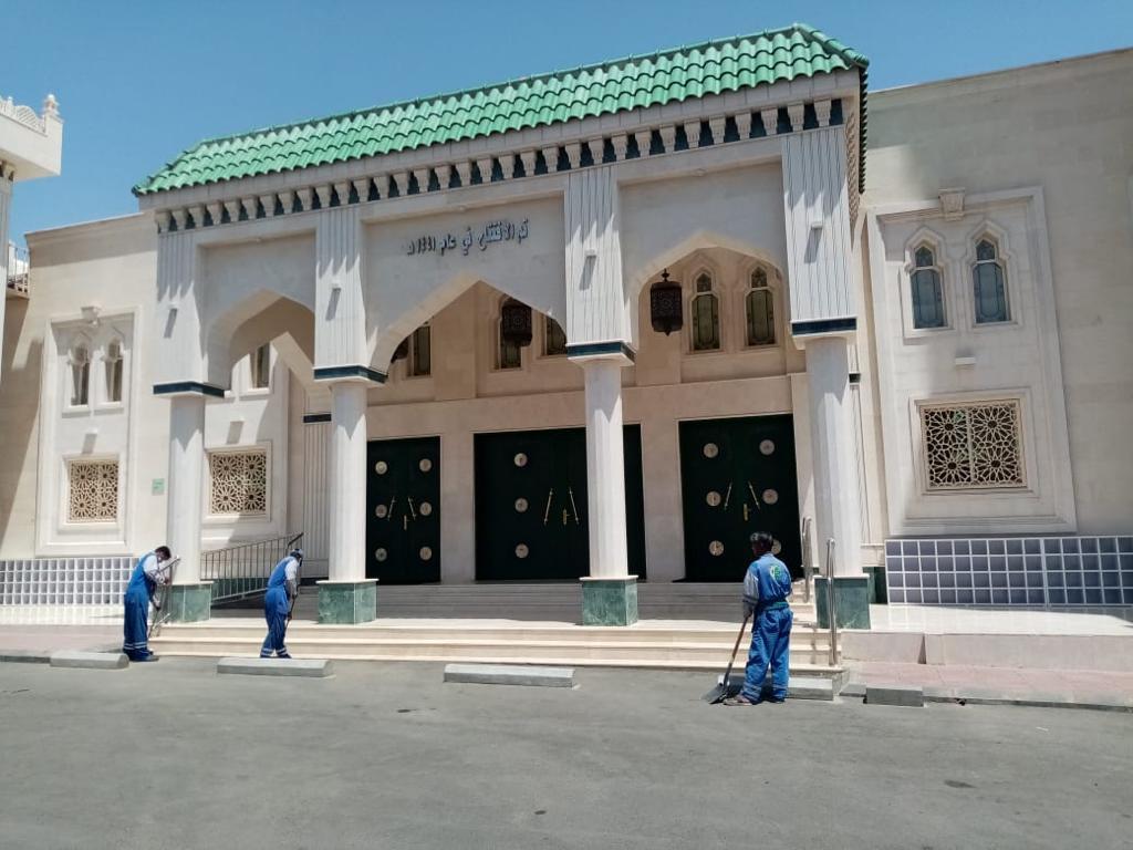 أمانة عسير تنهي اعمالها لتهيئة أكثر من 39 مصلى للعيد بمدينة أبها و ضواحيها