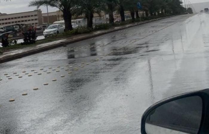 أمطار رعدية متوسطة إلى غزيرة مصحوبة برياح نشطة وزخات من البرد على مناطق ( نجران ،جازان، عسير ،الباحة ، مكة ، الشرقية )