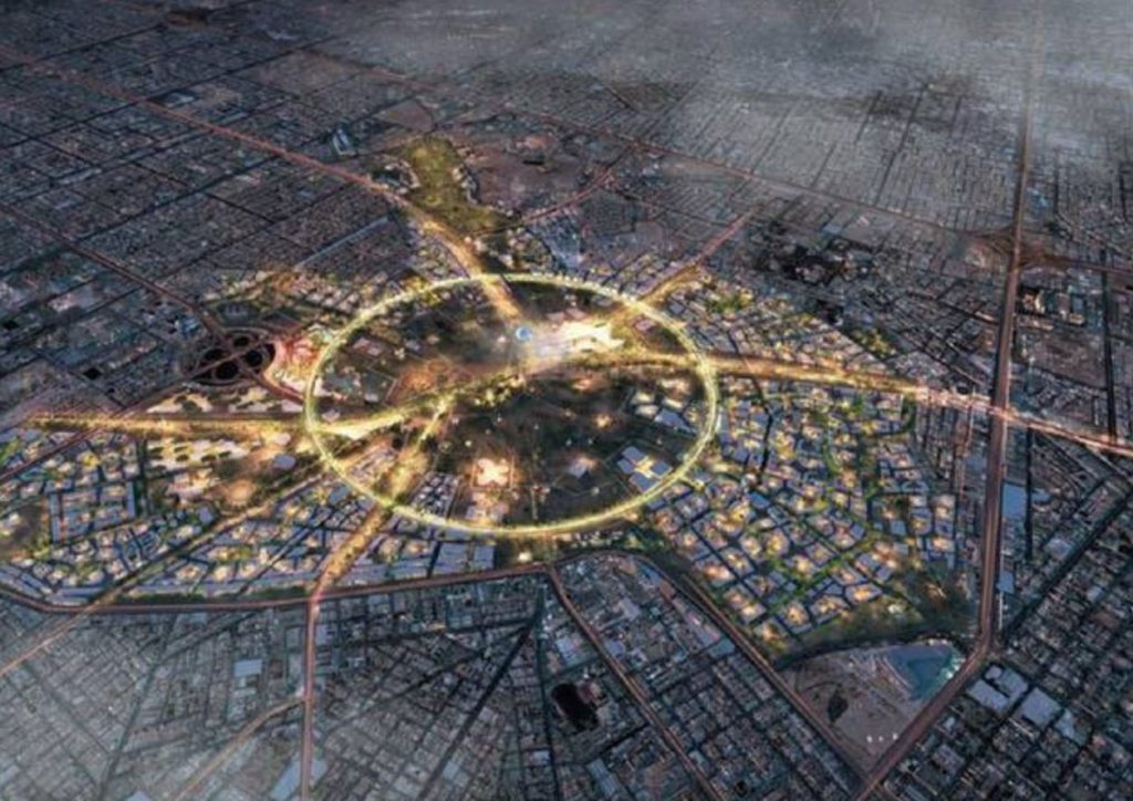 """joint venture"" يفوز بأعمال تنفيذ المرحلة الأولى من مشروع حديقة الملك سلمان"