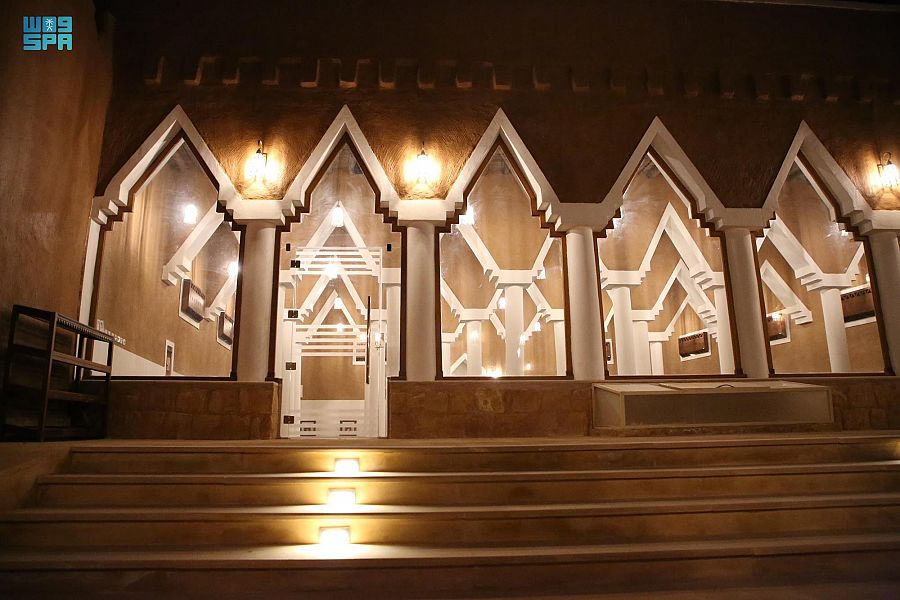 من مشروع الأمير محمد بن سلمان لتطوير المساجد التاريخية بالمملكة .. مسجد سديرة بمحافظة شقراء