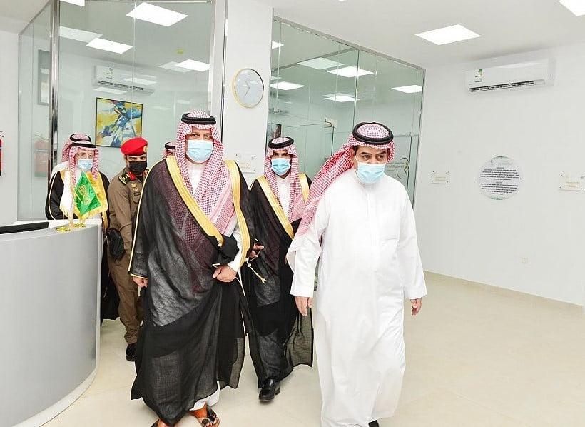 أمير منطقة حائل يفتتح مركز حسناء الرضيمان لغسيل الكلى بمحافظة الشنان