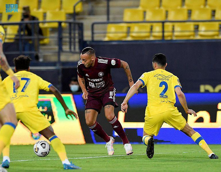 برباعية النصر يتغلب على الفيصلي في دوري كأس الأمير محمد بن سلمان للمحترفين
