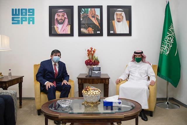 نائب وزير الخارجية يستقبل سفير جمهورية تركيا لدى المملكة