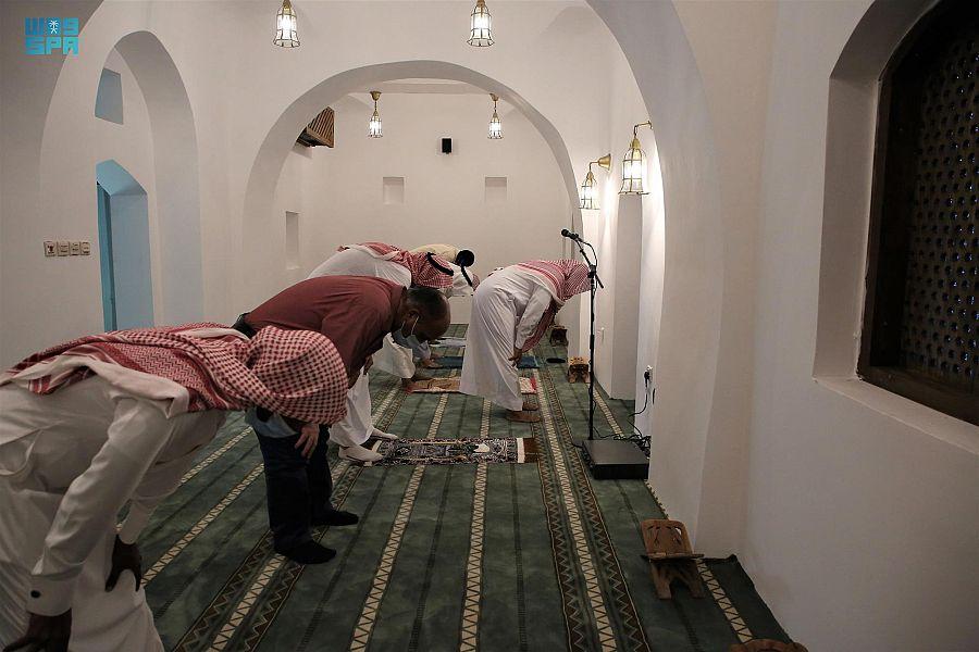 من مشروع الأمير محمد بن سلمان لتطوير المساجد التاريخية بالمملكة.. مسجد التابوت الذي بُني قبل 3 قرون