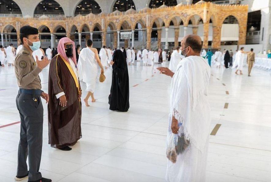 (٥٠٠) كادر أمن مدني لتنفيذ خطة الأمن والسلامة بالمسجد الحرام ليلة ختم القرآن وأيام عيد الفطر